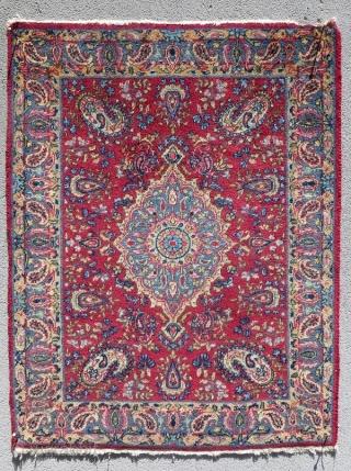 fine Kerman laver  size 74x56cm