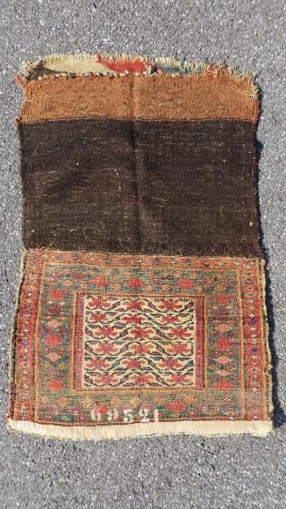 kurdish bag,1890 circa all good colors.size92x60cm