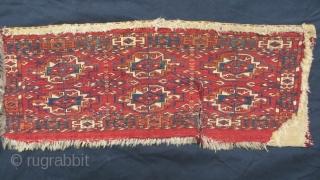 small tekke torba -1870 circa size 75x40cm