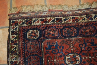 Large Baluch/Timuri bag face, 94 cm x 73 cm (37 x 28.7)
