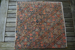 Antique Persian embroidery, c. 1800, 51 x 51 cm, good condition