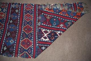 East Anatolian kilim fragment, 85 x 250 cm