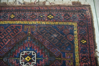 Baluch/Timuri bag face, 73 cm x 63 xn (28.7 x 24.8); there is a small repair and a small defect otherwise rather good pile.