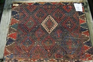 Old Jaff bag face fragment, 74 x 57 cm
