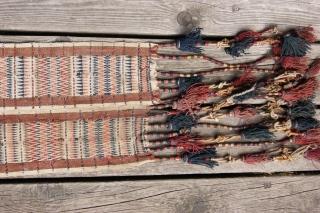 turkmen tentbend frag 24x166cm