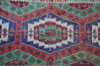 A very nice Anatolian Kilim, finely woven in excellent condition.