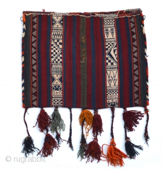 A large Anatolian chuval, very good overall condition with fine motif and original tassels