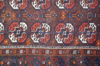 "Turkestan Beshir Tribal Rug, 5'10"" x 3'4""