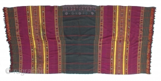 Old Wedding Shawl From Waziristan, Pakistan