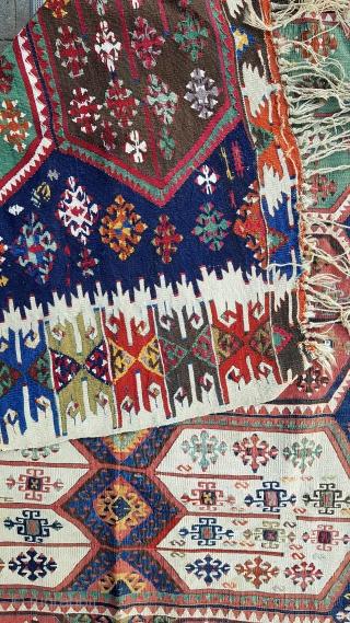 Size : 160 x 355 (cm), East anatolia, Maraş (pazarcik) kilim