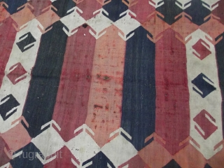 Tajik kilim, Northern Afghanistan size: 190 x 465