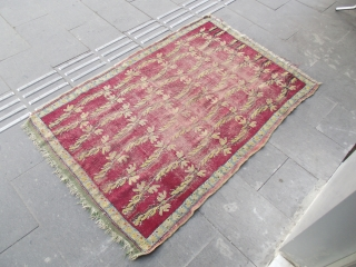 size : 110 x 160   19th century root paint mucur