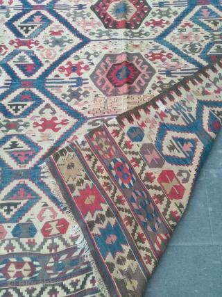 Size : 150*285   19th century.anatolian  madder