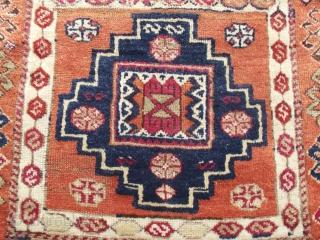 size: 120 x 380 (cm)  19th century anatolian carpet