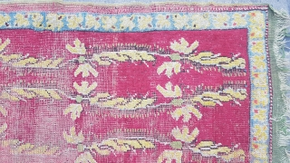 Size : 110 x 166 (cm), Middle anatolia (mudjur)synthetic colors