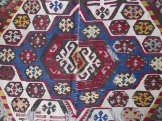size : 155 x 390   middle anatolian nomadic 130 years old (madder) ,  original