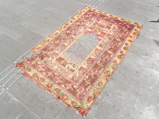 size : 115 x 180 cm  The late 19th century, middle anatolian kirsehir (mucur). Washed and natural colors (madder). I would recommend you to look at other products thanks