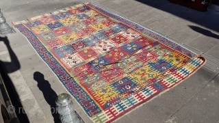 Size :170*280 Between the 19th century Konya kilim. perfect rug