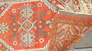 Size : 110 x 170 (cm), West anatolia , Old kozak !
