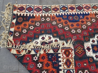 Size : 170 x 305 (cm)  Over 130 years old  Great natural saturated colors, great condition  Malatya