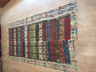 Colours kilim is good condition lovely colour 