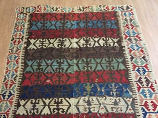Colours kilim is good condition lovely colour   rugrabbit note: Please remember not to post images sideways. Thanks!