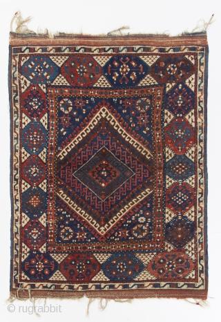 """Antique Nomadic Anatolian Rug from """"Karakecili"""" tribe, 140x170 cm, no 4257"""