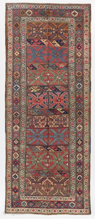 Antique Kurdish Runner 4 4 Quot X 10 5 Quot 133x317 Cm