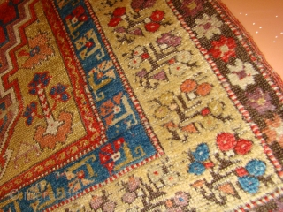 "Anatolian Turkish Prayer rug. 40""X55""....101X140 Cm."