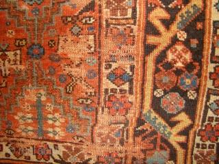 "NW Persian Kurdish long rug. 3'10""X8'4"""