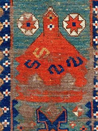 "Turkish Anatolian Prayer Rug. Size: 47"" X 60"""