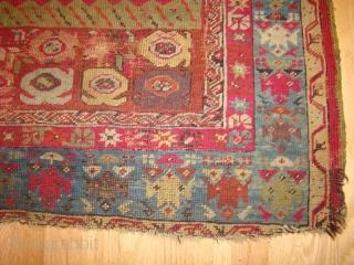 "Turkish Prayer Rug Size: 3'6"" X 5'4"""
