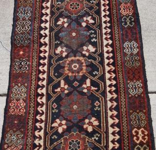 "Persian Varamin Minakhani rug runner measuring 2'6""x9'. Great soft wool..."