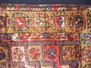 Antique Konya Yatak prayer rug.