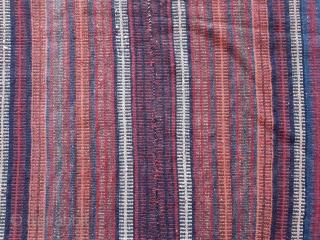 Kurdistan Jajim from 1900-1920. size: 188*180 cm vegetable dyes.