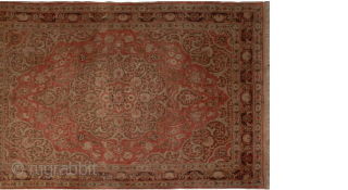 Famous master Haji Jalili hand-knotted rug. Size: 112 cm × 164 cm