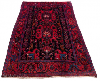 +90 years old kurdish rug.