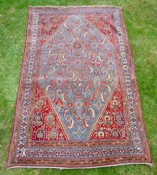 An attractive late 19th Century Qashquli Qashqai rug. 179 x 111cm /5'11' x 3'8""