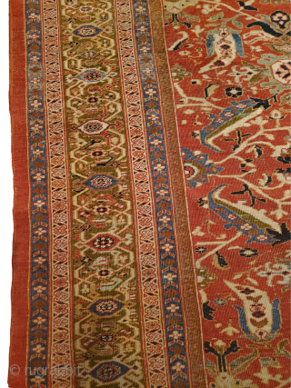 "Origin: Sultanabad ; Circa: 1900 ; Size: 13'3"" x 22'3"" ; Stock# 37007 . 