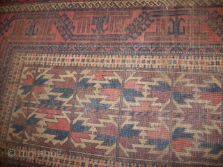 baluch circa 100 years low pile size:94*147 cm