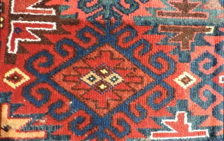 """Uzbek carpet sometimes referred to as a dschulchir or """"bear skin"""" rug because of the typically, long thick pile. This type of rug has been described as having a """"warp faced back""""  ..."""