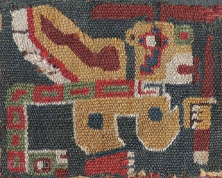 Excellent selection of ancient textiles from the world's wool weaving traditions on my pages.  100's of collectable pieces from diverse cultures and places.  Have a look.