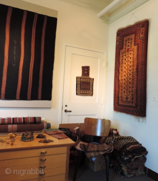 Interesting artifacts.  Rugs too.  Last days in this office until my move to better digs.  Will miss my desk view of the Golden Gate Bridge though.  I'm close  ...