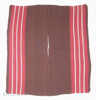 Aymara Kawa Ponchito,  19th century, Bolivia, Altiplano region.  Minimal aesthetic, authentic.  Worn over ponchos on ceremonial occasions by male, community leaders.  36.5 x 40 inches.