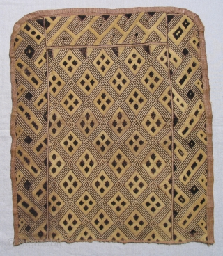 Authentic old African textiles from the Congo. Many to choose from.  A good selection of works by Kuba, Pygmy and Imbola peoples.  Request additional images for others to choose from  ...