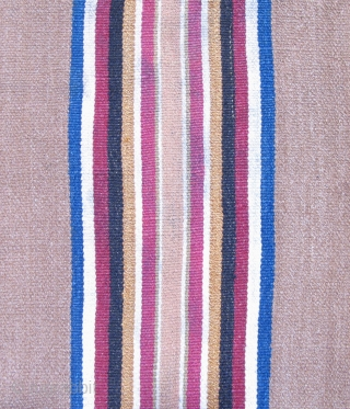 Aymara ceremonial coca cloth or small mantle (Incuna).  Altiplano Region, 19th century.  Large size :33.5 x 37 inches.  Could use a careful cleaning.  Good colors with a strong  ...