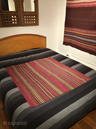 Stripes.  19th century warp-faced weavings from the Indigenous Aymara indians of the Altiplano region of Bolivia.  Many such pieces to choose from. Pictured here are an Aymara ponchito on the  ...
