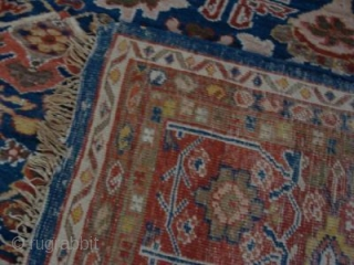 Antique Ziegler and Co carpet 3.95 m x 3.10m in excellent unrestored condition.