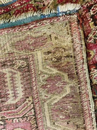 An absolutley impeccable and fantastic 19Ca Gordes Prayer rug.