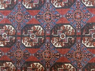 """Fabulous Antique Ferdows Baluch Rug.  Late19th/Early20thCa Rug is in excellent condition and all original. 7'7""""x4'"""